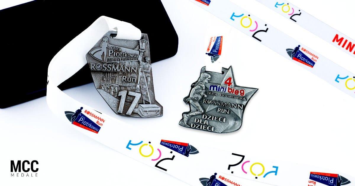 Medale przygotowane na Rossmann Run