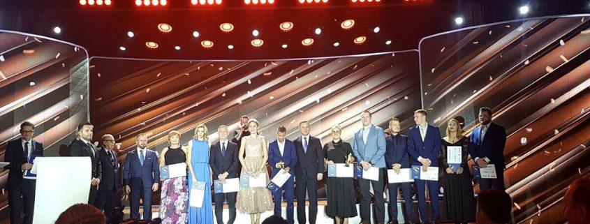 Gala 100 lecia PZLA oraz Złotych Kolców 2019