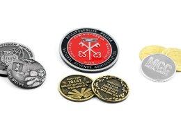 Monety pamiątkowe na zamówienie wykonane przez MCC Medale