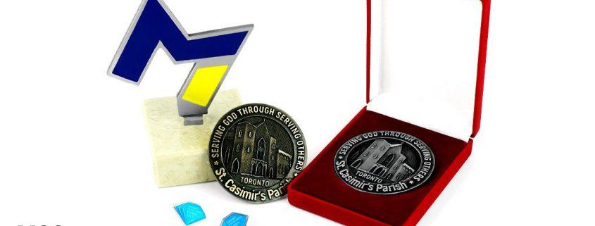 Nagrody biznesowe produkowane przez MCC Medale
