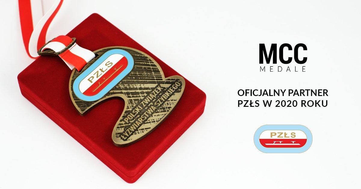 Oficjalne medale PZŁS wykonane przez MCC Medale