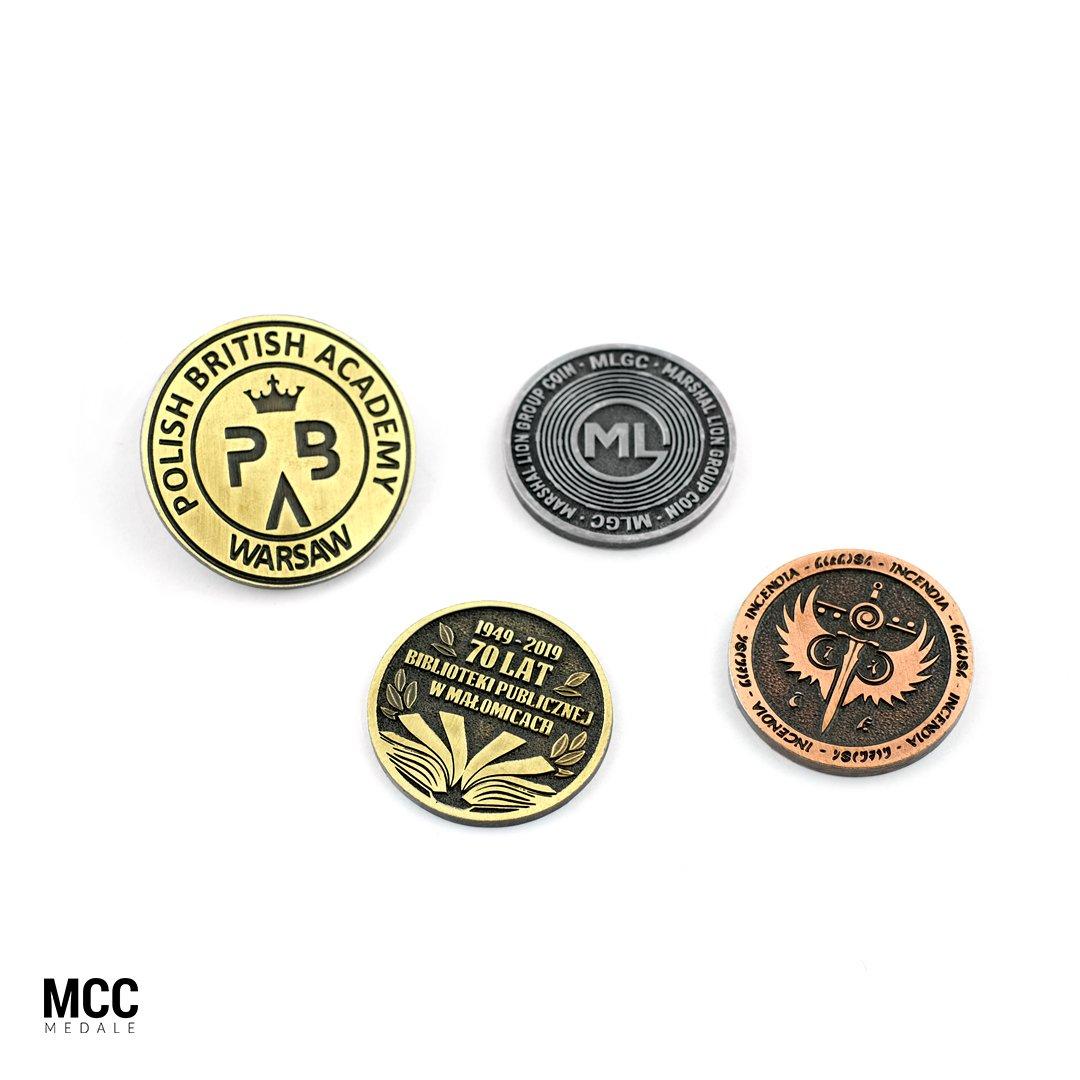 Własne monety na zamówienie