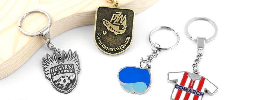 Breloki do kluczy z Twoim wzorem - breloki na zamówienie od MCC Medale