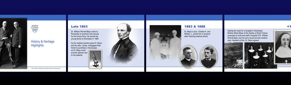 Grab-and-Go History Presentation | Mayo Clinic History & Heritage
