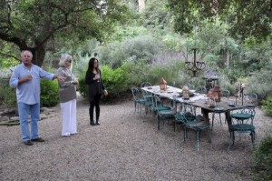 An evening with Lars Bolander and a thank you to Velvet and Linen