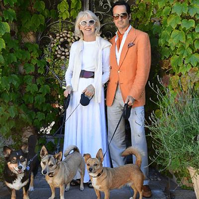 What was James Wearing in Santa Barbara?