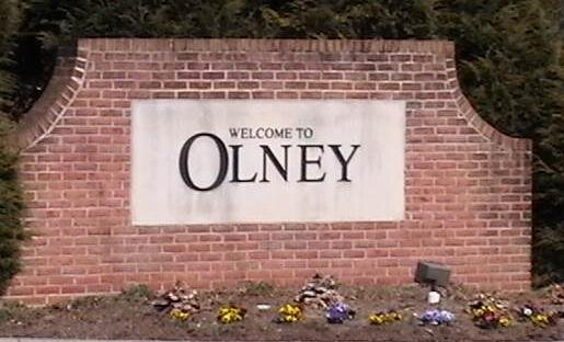 Welcome to Olney Sign