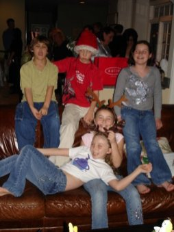 Mc Austin Ali Katherine Christmas Party 2008 3