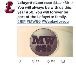 Tribute Lafayette MW#50