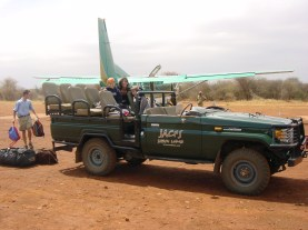africa arivial jeep