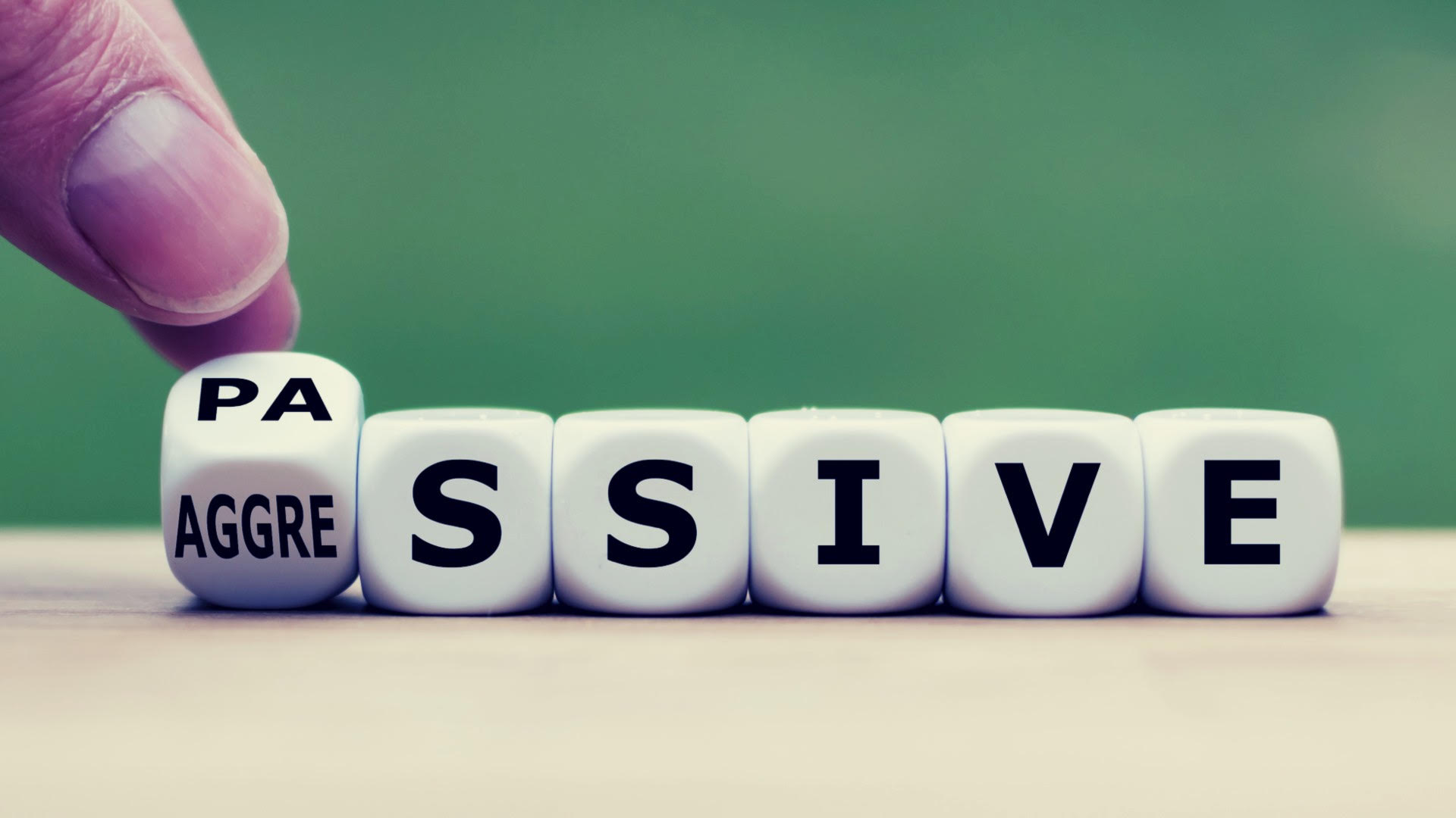 How to Handle a passive aggressive co-worker
