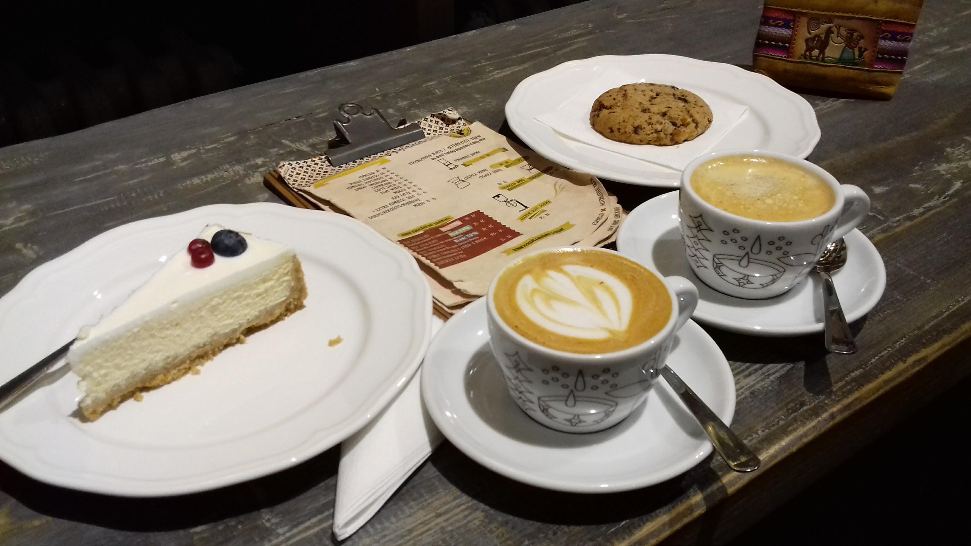 We love coffee (and chocolate)