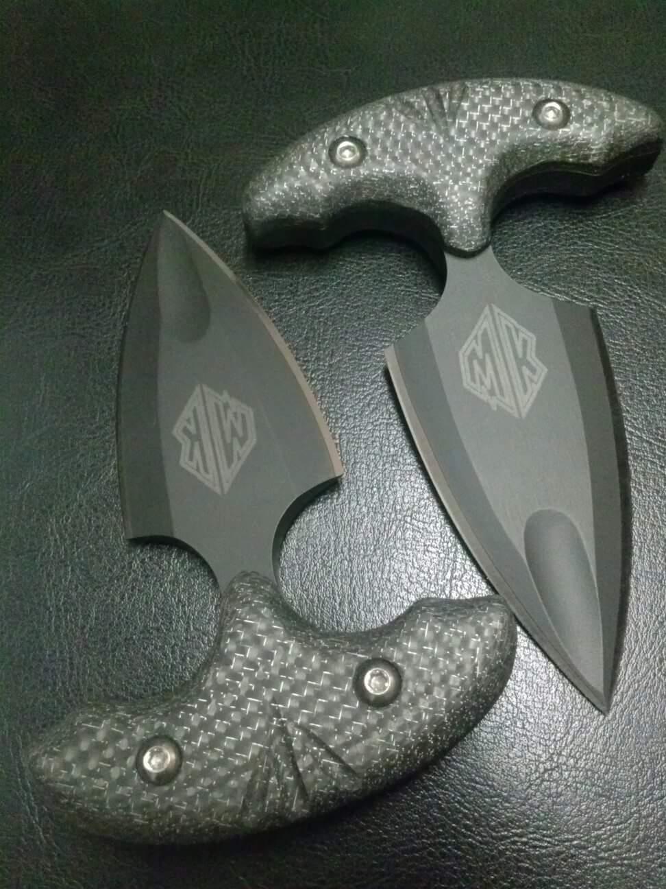 Mako Push Dagger  McDaniel Knives