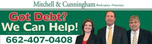Mitchell & Cunningham Bankruptcy Attorneys Tupelo Corinth Mississippi