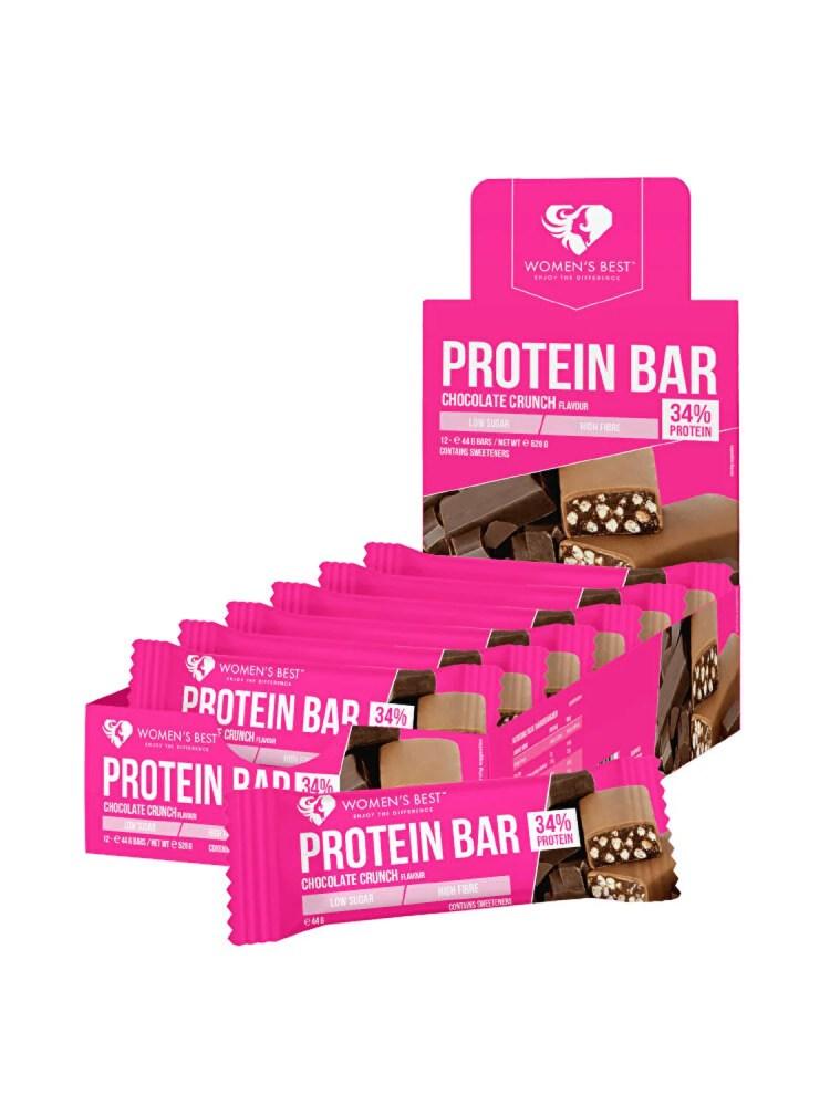 Imagini pentru WOMEN'S BEST Protein bar - Chocolate Crunch (12 buc.)