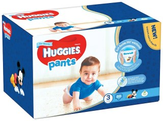 Scutece-chilotel Huggies Box boy 3, 6-11kg, 88 buc