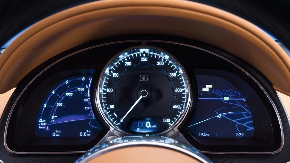 Гиперкар Bugatti Chiron выпустят тиражом в 500 экземпляров. Фото 5