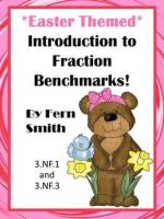 Fern Smith's Classroom Ideas Easter Fraction Benchmark Center Game