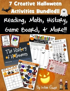 Halloween Bundle of Activities