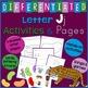 Letter J Alphabet Unit Plan