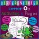 Letter O Alphabet Unit Plan