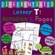 Letter T Alphabet Unit Plan