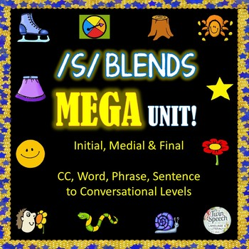 /S/ Blends Mega Unit: CC to conversational levels for all