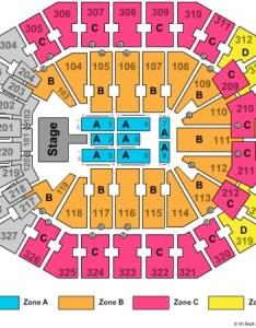 Kfc yum center end stage zone also tickets in louisville kentucky rh ticketseating