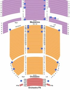 The fillmore miami beach at jackie gleason theater end stage also tickets in rh ticketseating