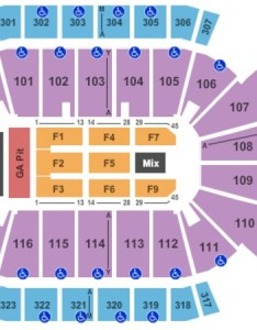 Jacksonville veterans memorial arena end stage ga pit also tickets in florida rh ticketseating