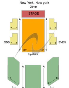 Westside theatre upstairs other also tickets in new york seating charts rh ticketseating