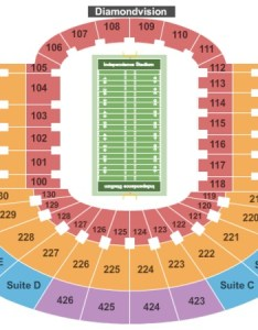 Independence stadium football also tickets in shreveport louisiana seating charts rh ticketseating