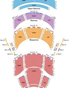 Dr phillips center walt disney theater end stage also tickets in orlando florida rh ticketseating