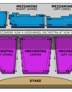 Winter garden theatre end stage also tickets in new york seating charts events rh ticketseating