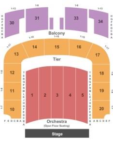 Nashville war memorial center stage also tickets in tennessee seating rh ticketseating