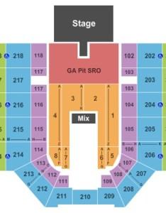 Verizon wireless center lee brice also tickets in mankato minnesota seating charts rh ticketseating