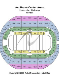 Von braun center arena football also tickets in huntsville alabama seating charts rh ticketseating