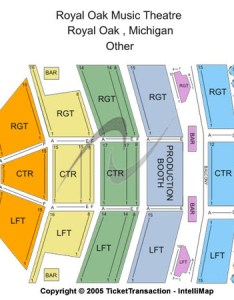 Royal oak music theatre other also tickets in michigan seating rh ticketseating