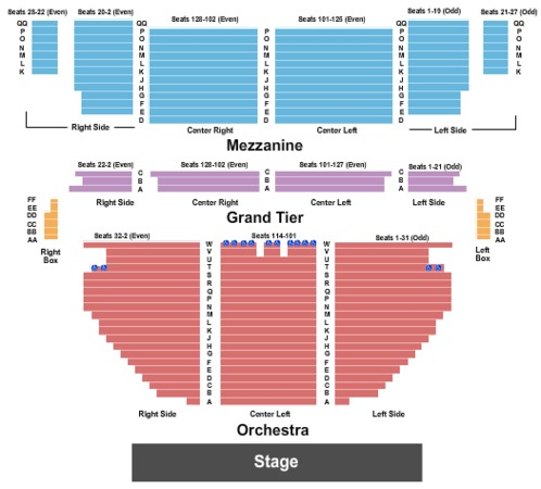18 New Gallery Of Palace Theater Columbus Ohio Seating Chart