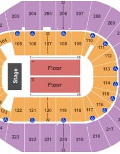 Verizon arena end stage also tickets in north little rock arkansas rh ticketseating