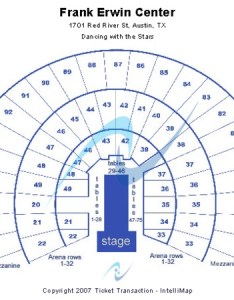 Frank erwin center dancing with the stars also tickets in austin texas rh ticketseating