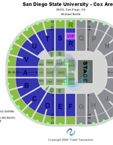 Viejas arena at aztec bowl michael buble also tickets in san diego california seating rh ticketseating