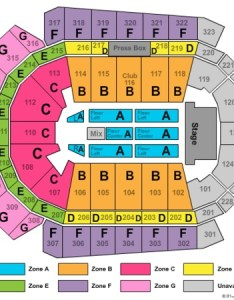 Wells fargo arena end stage zone also tickets in des moines iowa rh ticketseating