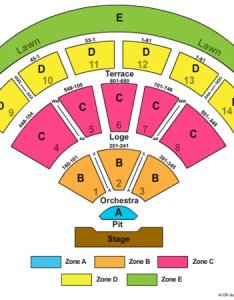 Irvine meadows amphitheatre end stage zone also tickets in california seating rh ticketseating