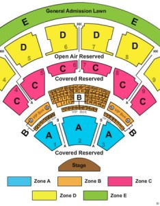 Coastal credit union music park at walnut creek end stage zone also tickets in raleigh rh ticketseating