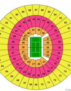 Tennis seating map frank erwin center also tickets and charts rh ticketsupply