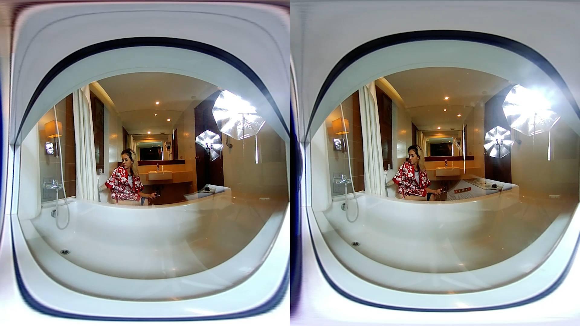 Toilet And Bathroom Voyeur  VR Porn Video  VRPorncom