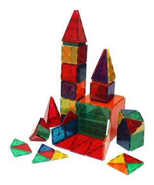 Clear Color 60-Piece Building Set