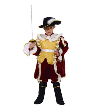 Red Noble Knight Dress-Up Set - Toddler & Kids