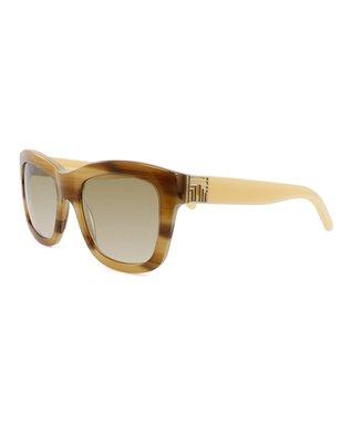 Medium Tortoise Grapefruit Sunglasses